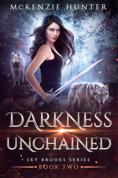 Book cover for Darkness Unchained (Sky Brooks Series) by McKenzie Hunter