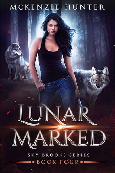 Book cover for Lunar Marked (Sky Brooks Series) by McKenzie Hunter