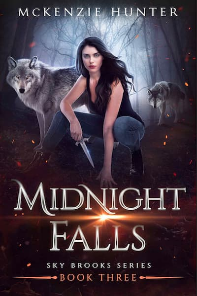 Book cover for Midnight Falls (Sky Brooks Series) by McKenzie Hunter