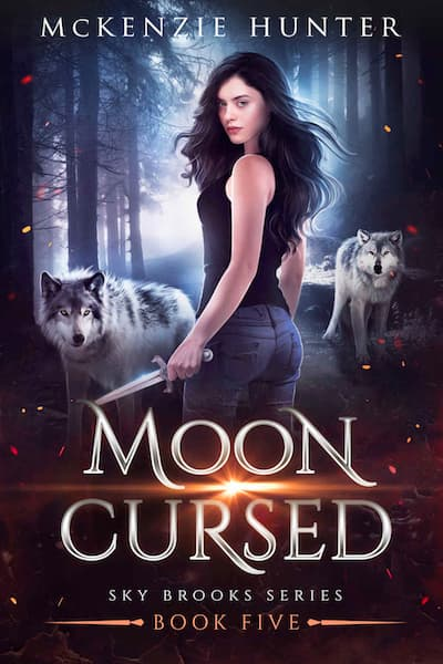 Book cover for Moon Cursed (Sky Brooks Series) by McKenzie Hunter