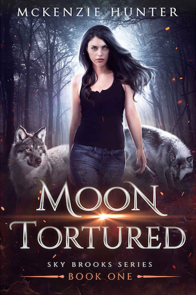 Book cover for Moon Tortured (Sky Brook Series) by McKenzie Hunter