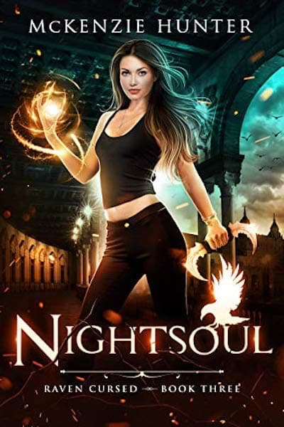 Book cover for Nightsoul (Raven Cursed Series) by McKenzie Hunter