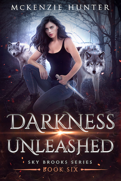 Book cover for Darkness Unleashed (Sky Brooks Series) by McKenzie Hunter