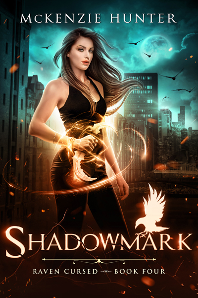 Book cover for Shadowmark (Raven Cursed Series) by McKenzie Hunter