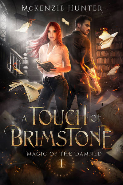 Book cover for A Touch of Brimstone